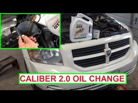 dodge caliber oil change 2 0 engine how to change the oil. Black Bedroom Furniture Sets. Home Design Ideas