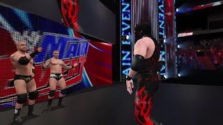 "WWE 2K15- Kane vs Batista ""WWE Universe""at Main Event Gameplay 2015 (PS4)"