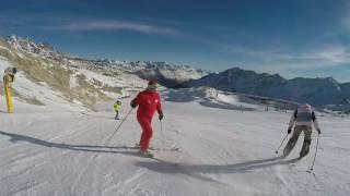 2016 Австрия Зёльден Олени Тарас(Инструктор горнолыжной школы Оленей Тарас Очеретяный., 2016-12-10T06:50:12.000Z)