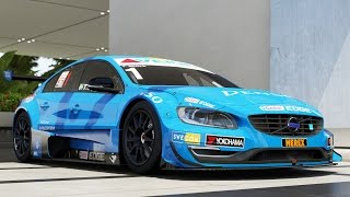 Volvo #1 Volvo Polestar Racing S60 STCC 2014 - Forza Motorsport 6: Apex - Test Drive Gameplay (HD)