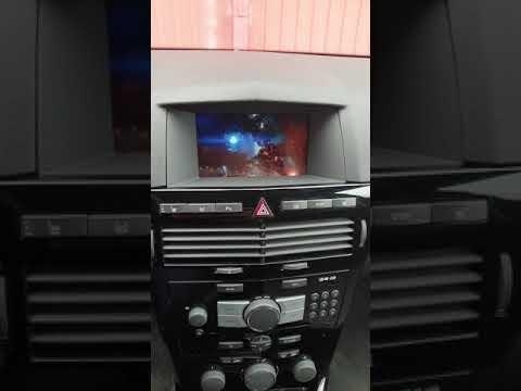 Видеоинтерфейс+CID Opel Astra H