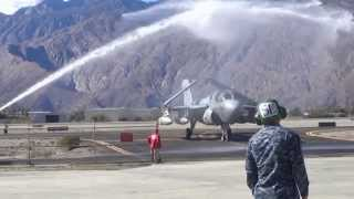 EA 6B PROWLER RETIRED AT PALM SPRINGS AIR MUSEUM