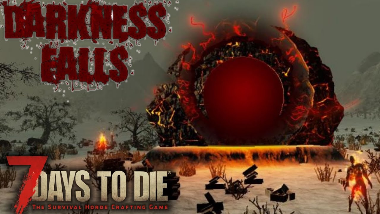 Best Mod Combo Out There 7 Days To Die Alpha 17 Darkness Falls Mod Gameplay E01 Youtube