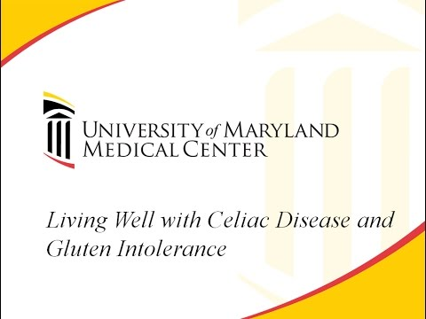 Living Well with Celiac Disease and Gluten Intolerance