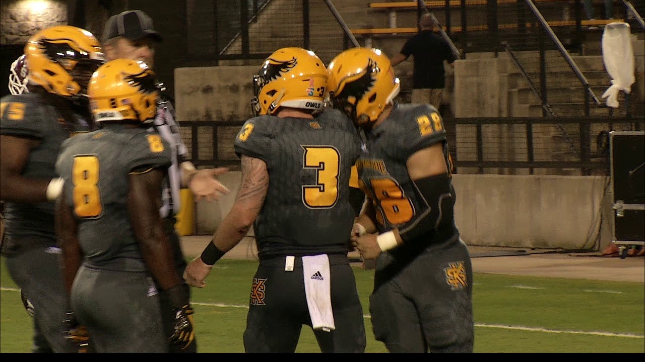 online retailer 90037 a6dfd Highlights: Kennesaw State Football Routs Texas Southern, 48-3