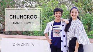 Ghungroo | War | Ishita Mehta Ishan Mehta | Dance Cover