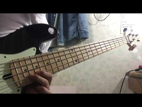 (guitar solo bass cover)Jonathan Butler-Sweet serenade