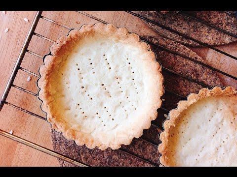 How To Make TART SHELLS (made with pâte sablée dough)   pt.1