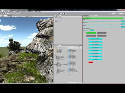 Unity 3d Management model tool included HD