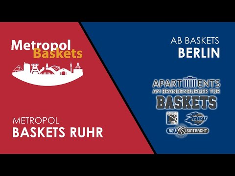 NBBL PLAYOFFS LIVE: Metropol Baskets vs. AB Berlin