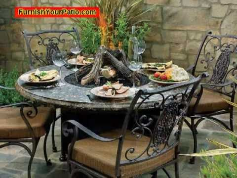 Natural Gas Fire Pit Tables For Your Patio