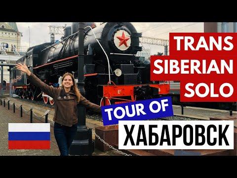 TRANS SIBERIAN EXPRESS DONE BACKWARDS   Khabarovsk City Tour