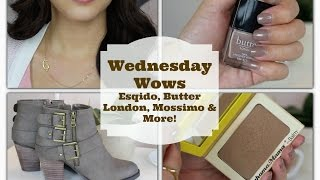 Wednesday Wows | Esqido, Butter London, Mossimo & More! Thumbnail