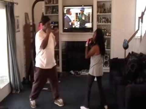 Gwen Boxing Lesson #2
