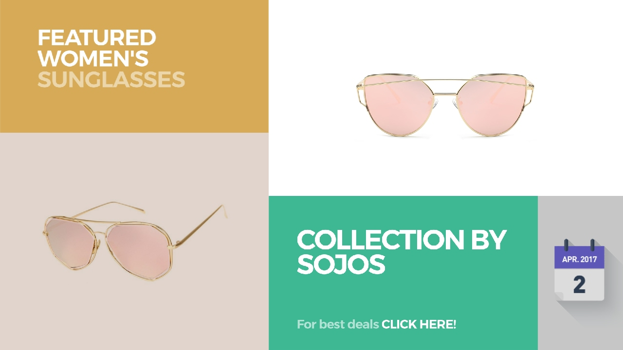 Collection By Sojos Featured Women\'s Sunglasses - YouTube