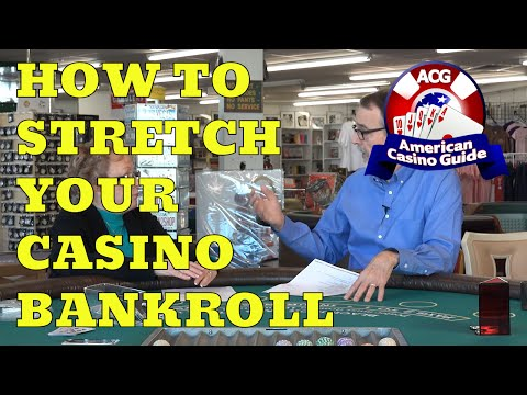 How To Stretch Your Casino Bankroll - With Gambling Author Jean Scott