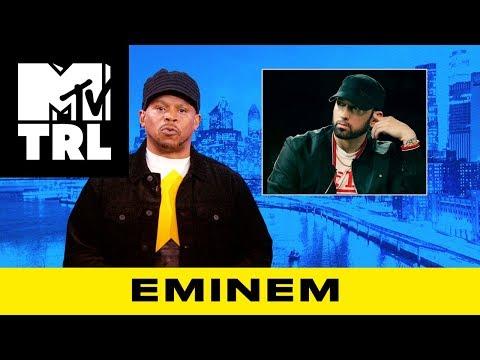 Sway Calloway on Eminem's Beef w/ Machine Gun Kelly & Joe Budden | TRL
