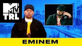 Sway Calloway on Eminem's Beef w/ Machine Gun Kelly & Joe Budden   TRL