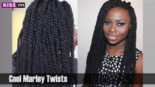 Ladies here is a few example of funky braids to rock at the moment
