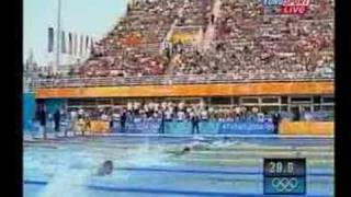 butterfly men 100m final olympic games athens 2004 swimming