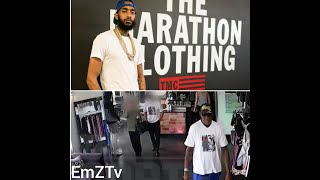 Dennis Rodman clothing heist caught on video.. Nipsey Hussle's Marathon store makes 10 million