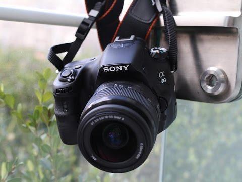استعراض للكاميرا Sony