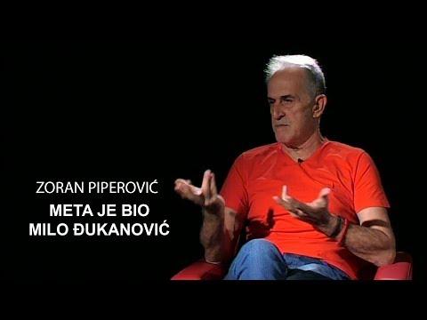 TV EMISIJA PRIČE: Zoran Piperović - Meta je bio Milo Đukanović