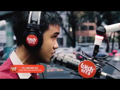 Carlmalone Montecido covers  I'll Never Go  Nexxus LIVE on Wish 107 5 Bus