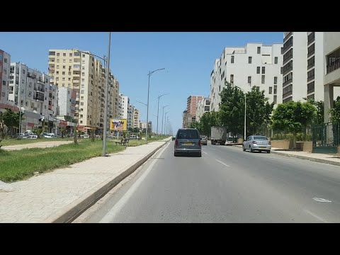 Driving in oran Algérie 04 06 2020 وهران الجزائر