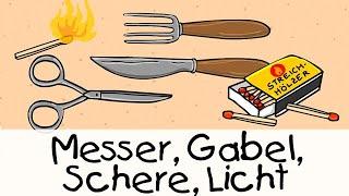 """Für sind kabelbinder gabel kleine nicht schere licht messer """"Messer, Gabel,"""
