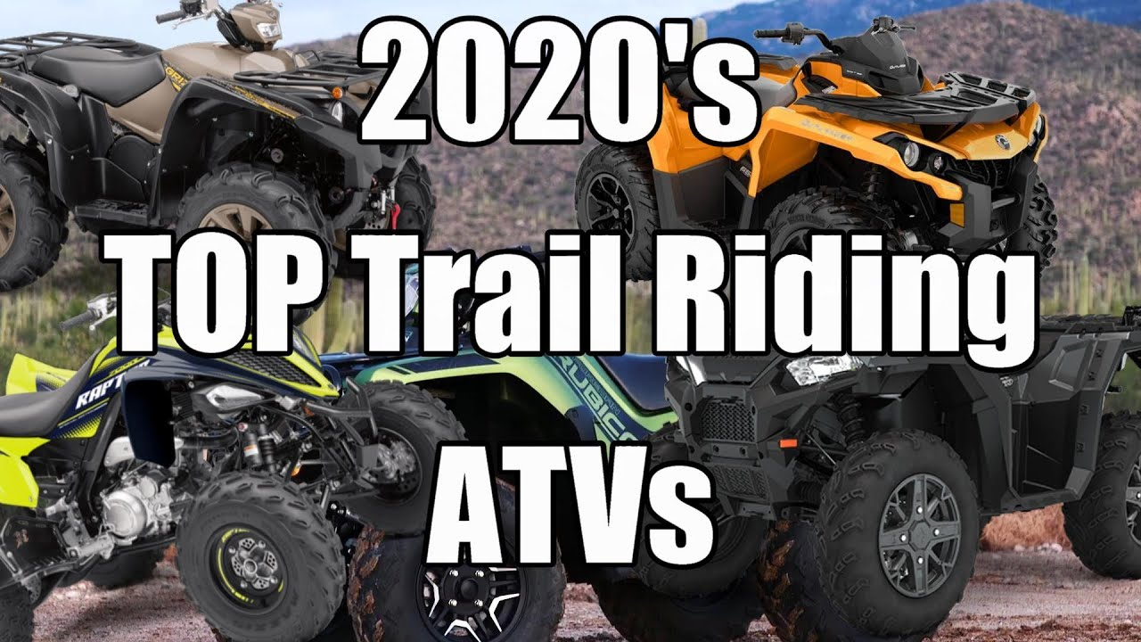 2020's Best Trail Riding ATVs! Top 5!