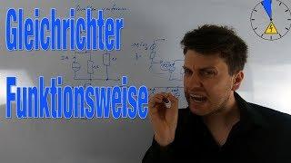 Funktionsweise Gleichrichter - Elektrotechnik in 5 Minuten