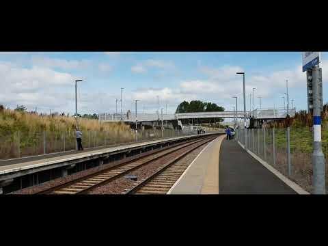 Borders Railway Steam Train Linlithgow - Tweedbank