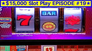 High Limit Double Top Dollar Slot Machine $20 Bet Live Play | EPISODE-19 | Live Slot Play w/NG Slot