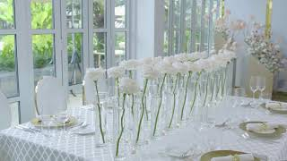 Wedding Anniversary at Pool House - Park Hyatt Saigon