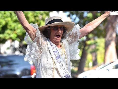 Women's Suffrage March 2017 in Balboa Park