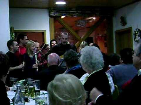 German Theatre Group Sings A Folk Song