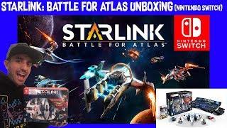 Starlink: Battle For Atlas Unboxing! Star Fox Is Back! (Nintendo Switch)