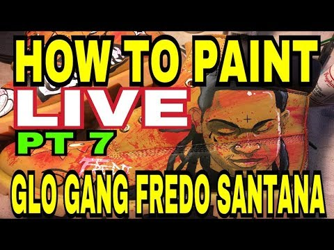 How To Paint | Custom Timberland Boots | Glo Gang (2018) By Gymshoe Pt 7