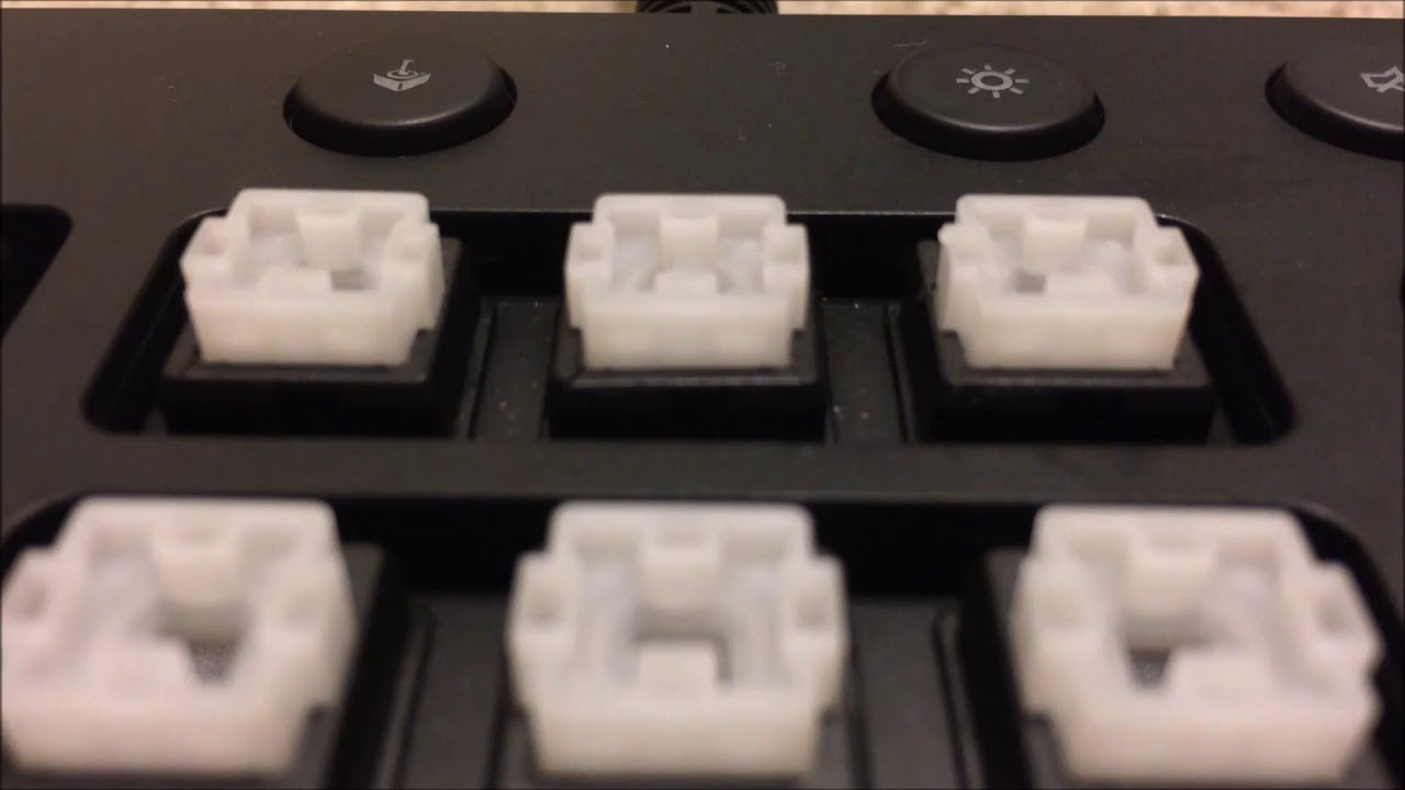 Temporary Fix for Cracked Logitech Romer G Switch