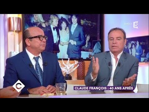 Claude François, 40 ans après - C à Vous - 28/09/2017