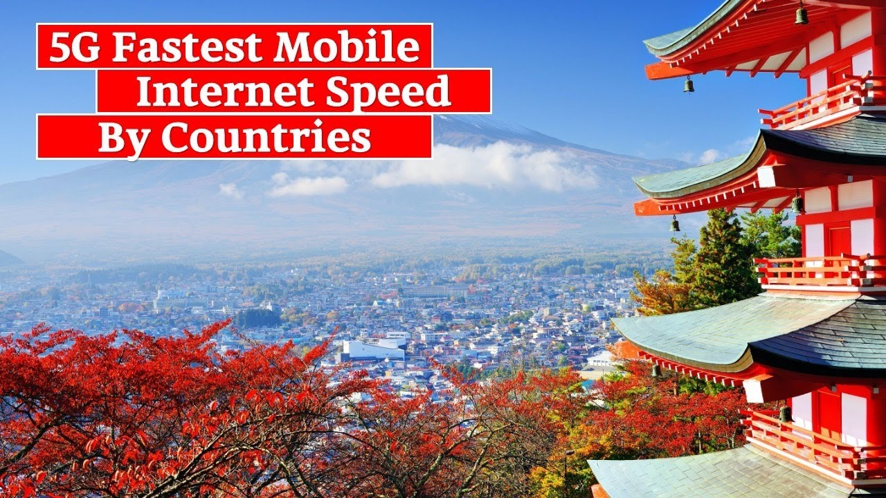 Top 10 Countries by 5G Fastest Mobile Internet Speed I Fastest Internet Speed by Countries I