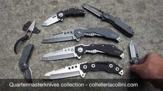Quartermaster knives, Murdock, Templeton, Thomas, John Hannibal Smith knife