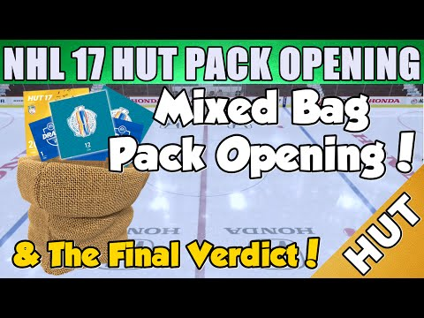 Mixed Bag Pack Opening! More Big Pulls! - NHL 17 HUT - Hockey Ultimate Team - The Verdict!