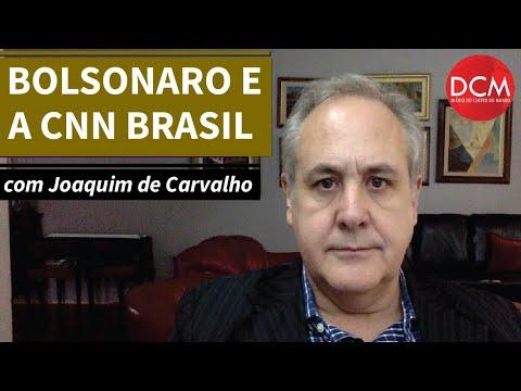 Bolsonaro, a CNN Brasil e a Globo: briga de cachorro louco