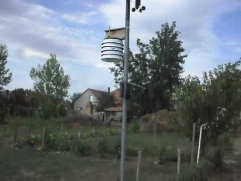Homemade meteorological station