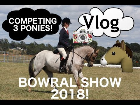 BOWRAL SHOW 2018! COMPETING 3 PONIES!