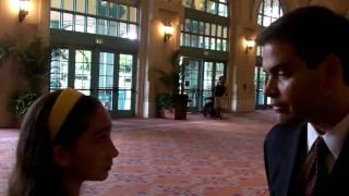 Pavlina Interviews MARCO RUBIO candidate for U.S. Senate