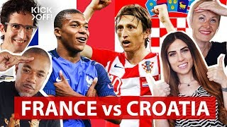 France vs. Croatia 4 - 2 | World Cup Final 2018 Live Stream 🔴 | The World Cup Final 2018 Show