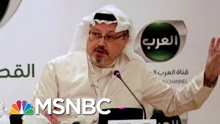 President Donald Trump's Tepid Response To Missing Journalist News | The Last Word | MSNBC